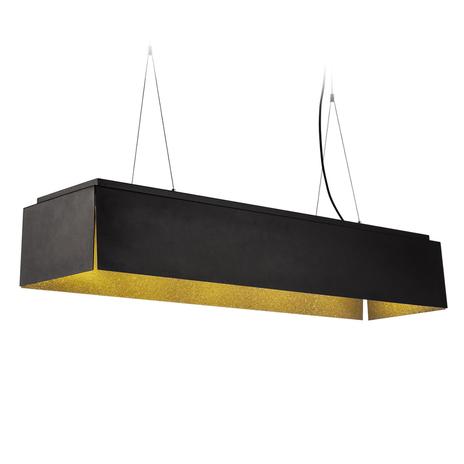 SLV Avento lampa wisząca LED 110 czarna/złota