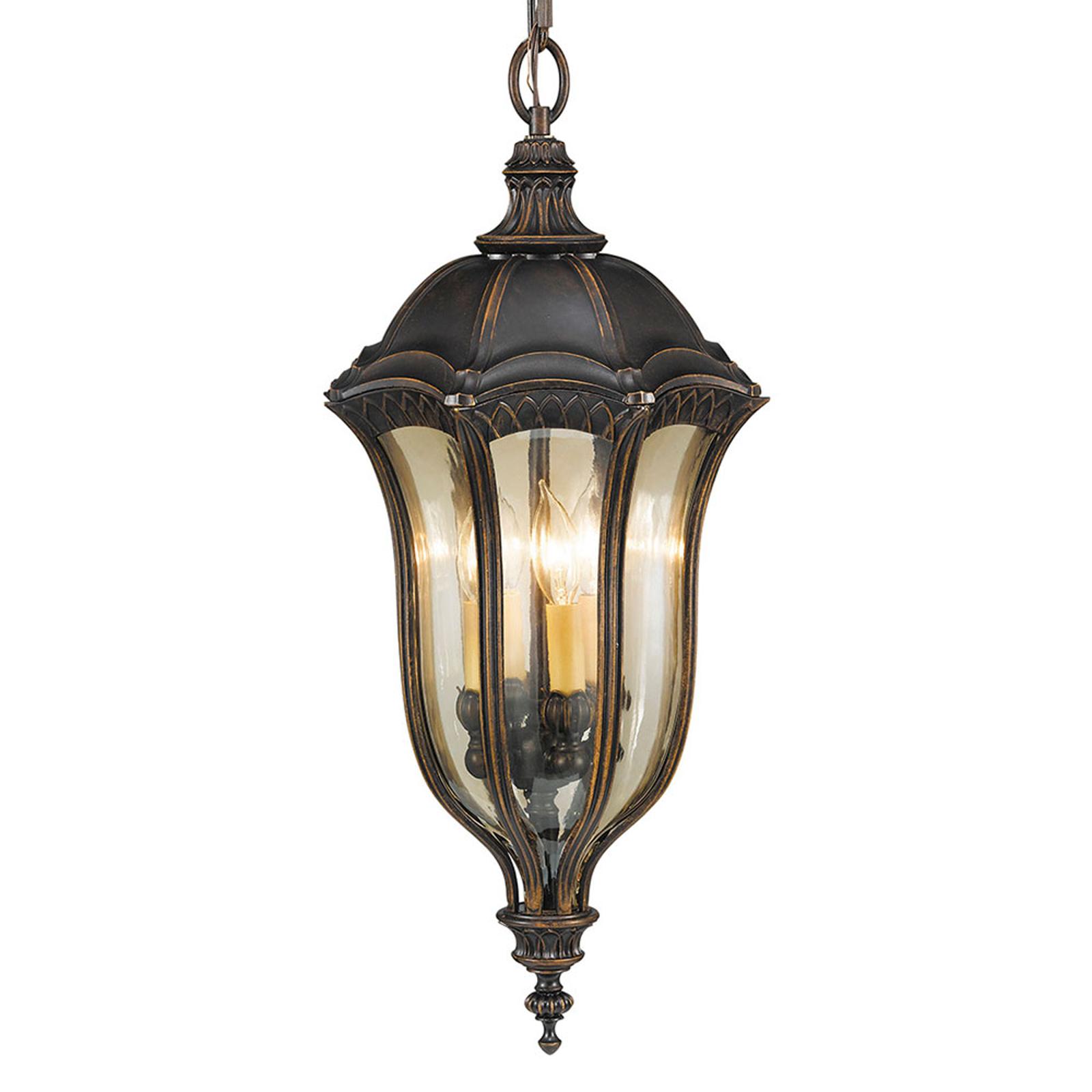 Zewnętrzna lampa wisząca Baton Rouge