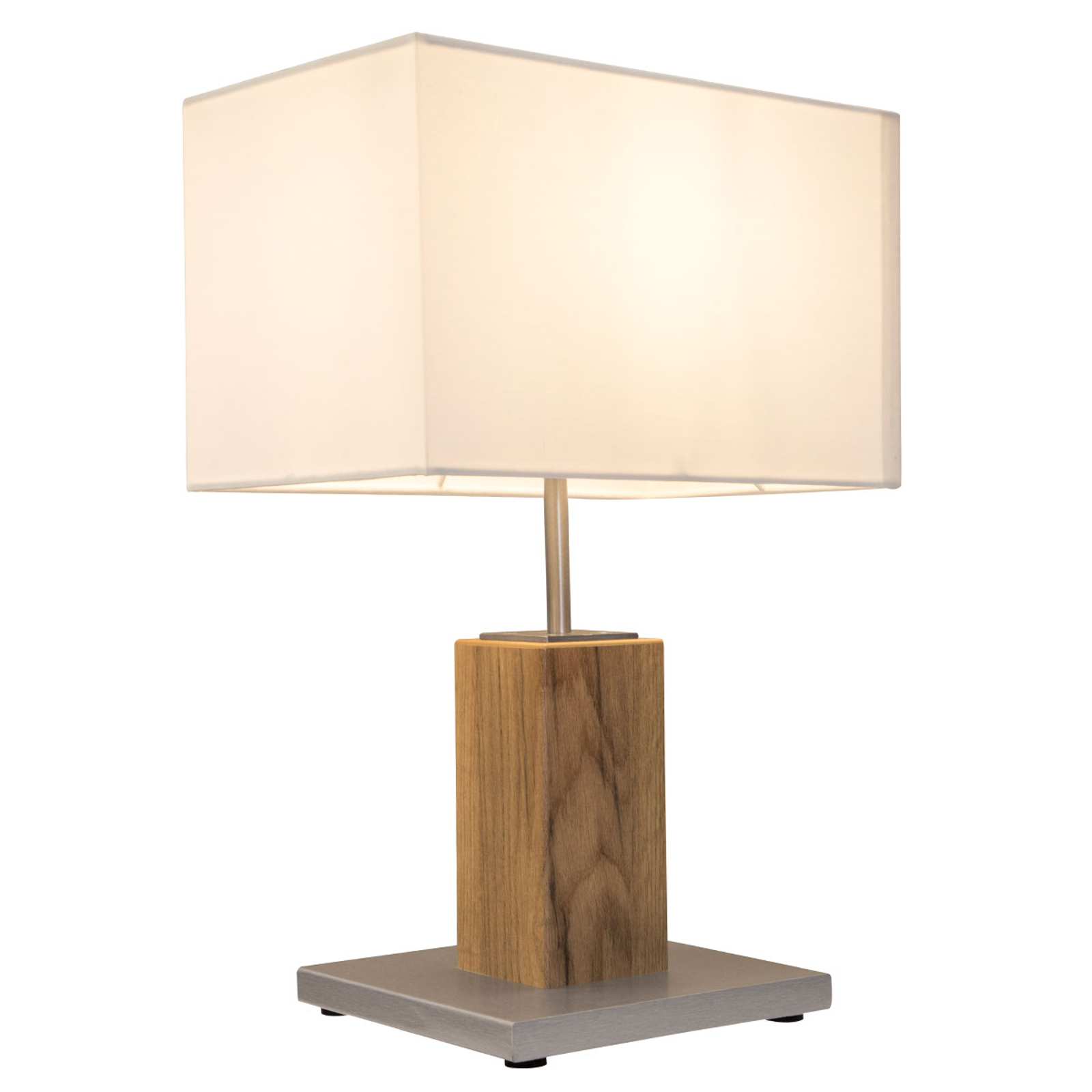 Tafellamp Gump met stoffen kap