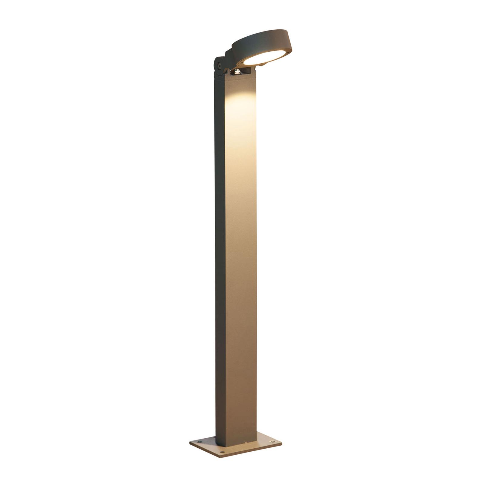 HEISSNER SMART LIGHTS gatelampe, antrasitt, 60 cm