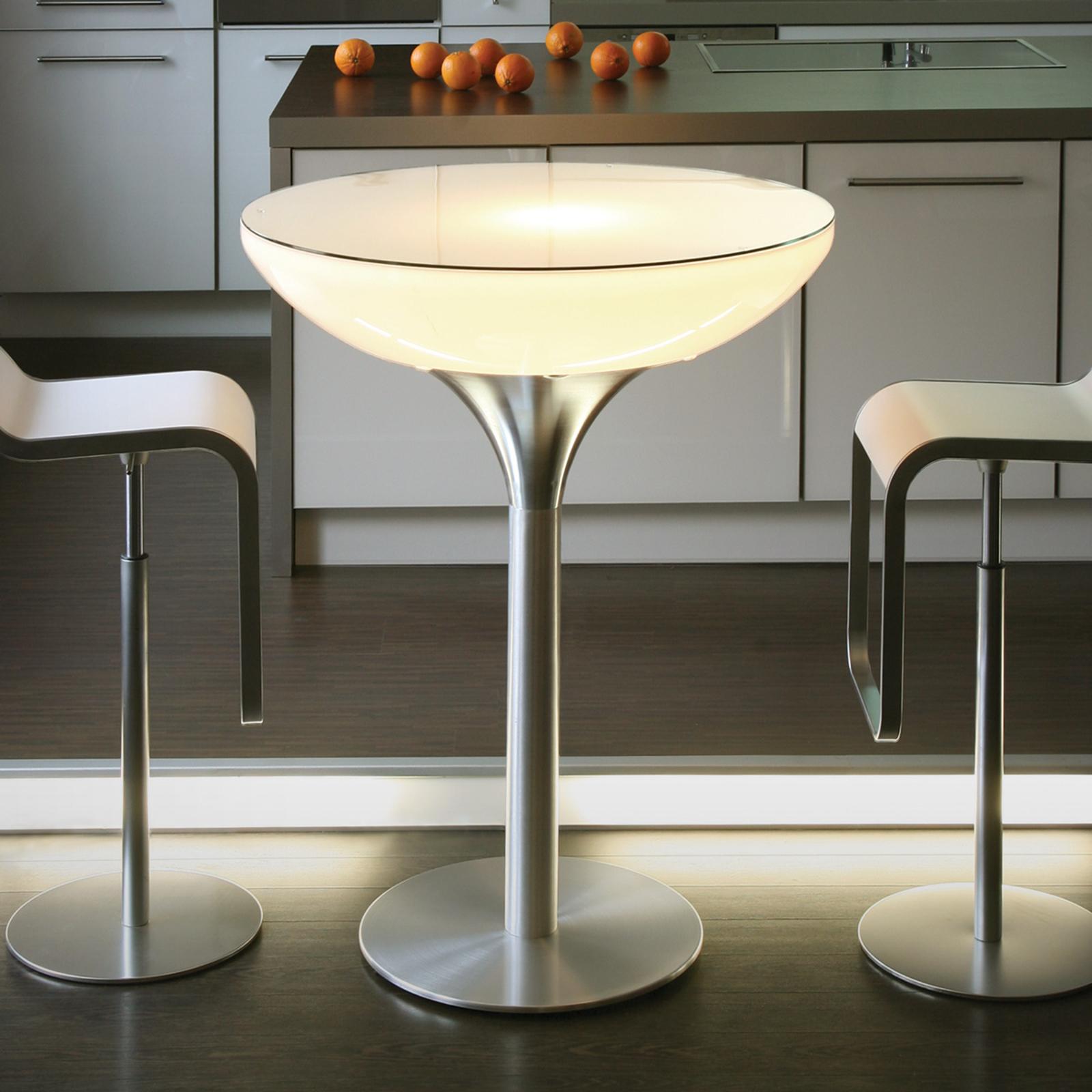 LOUNGE Table Indoor rundt lysbord, 105 cm