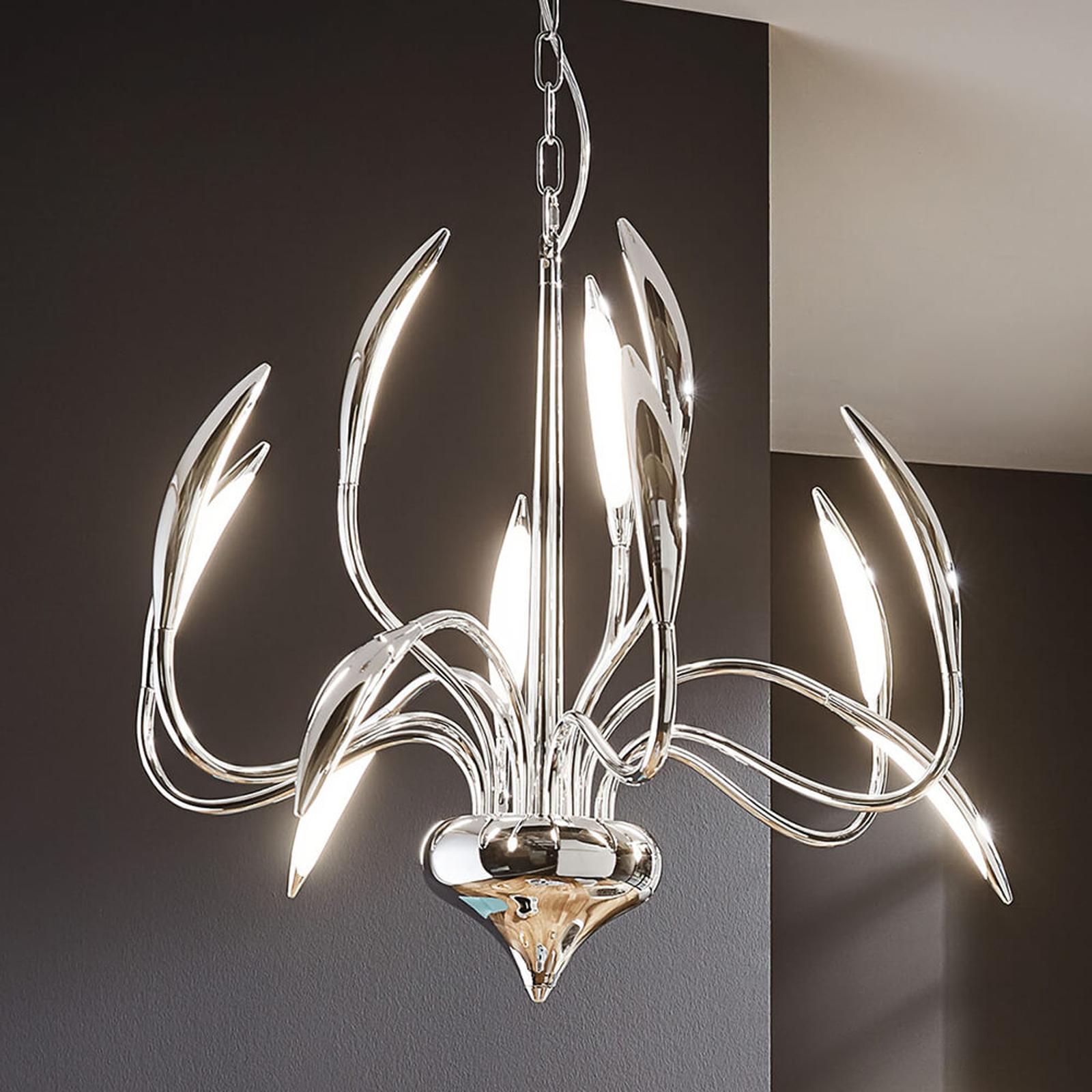 LED-pendellampe Hampton med tolv lys