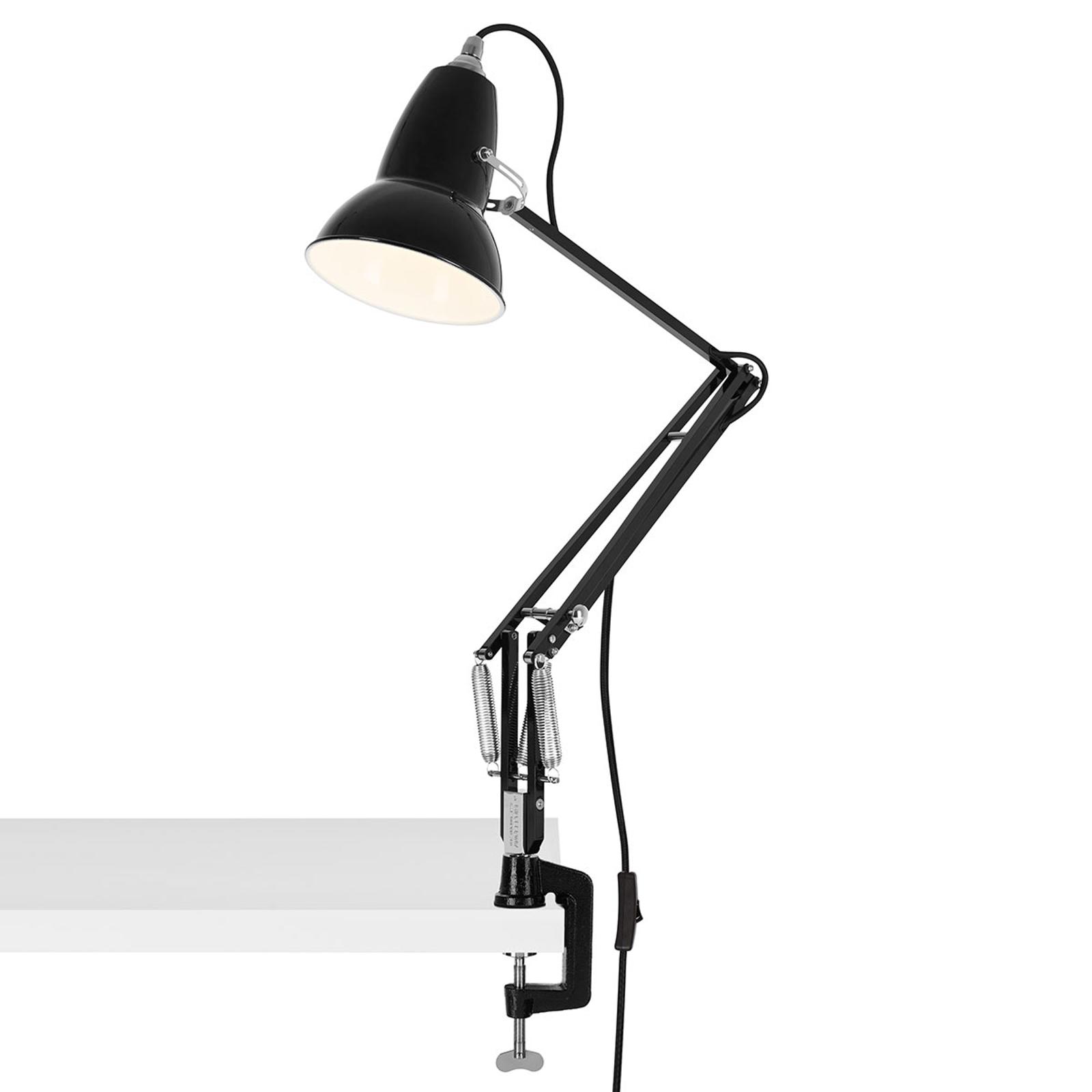 Anglepoise Original 1227 kläm-bordslampa svart