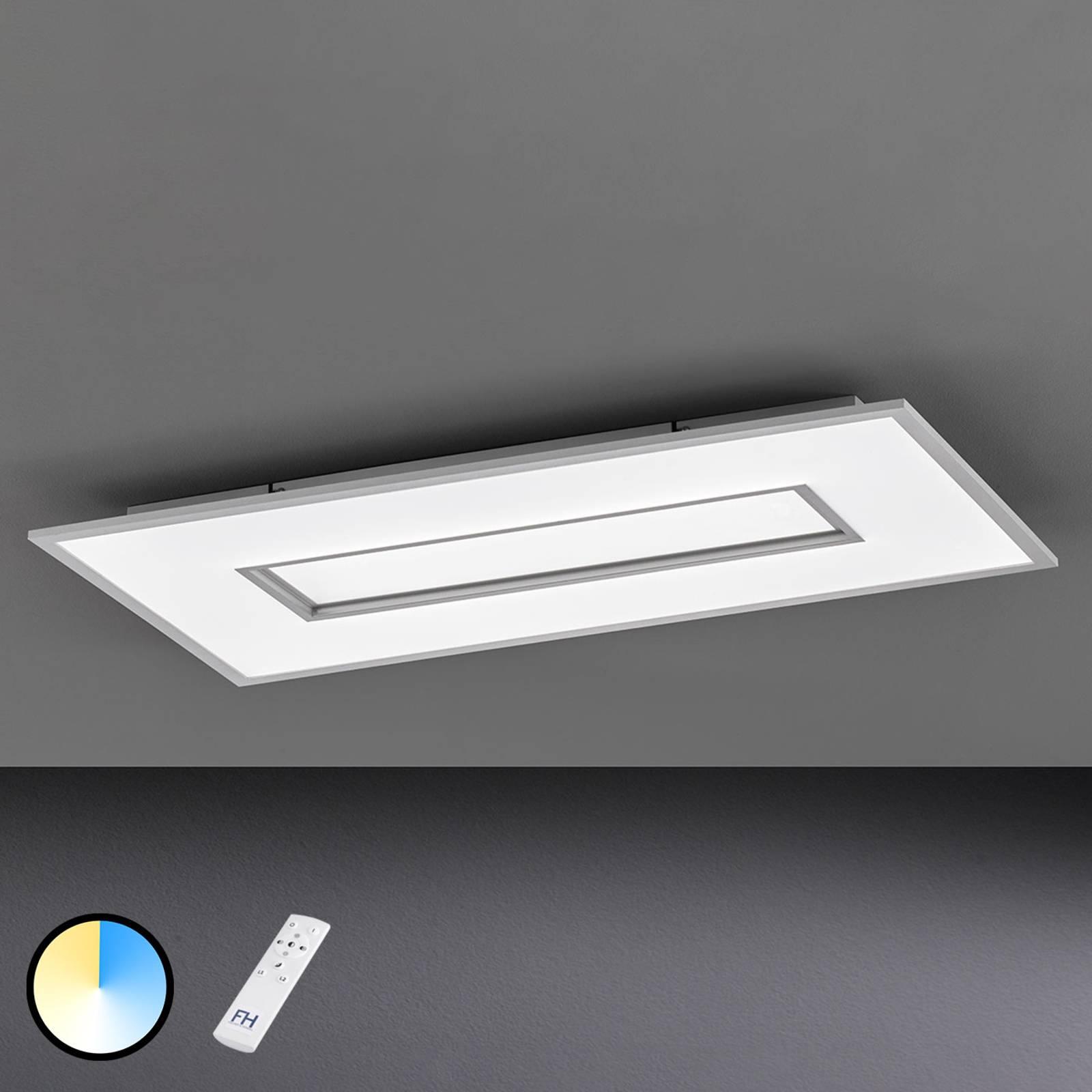 Plafoniera LED Tiara rettangolare 96x50 cm
