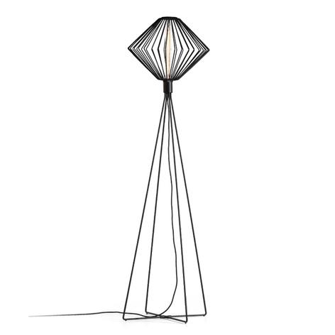 WEVER & DUCRÉ Wiro Diamond lámpara de pie negro