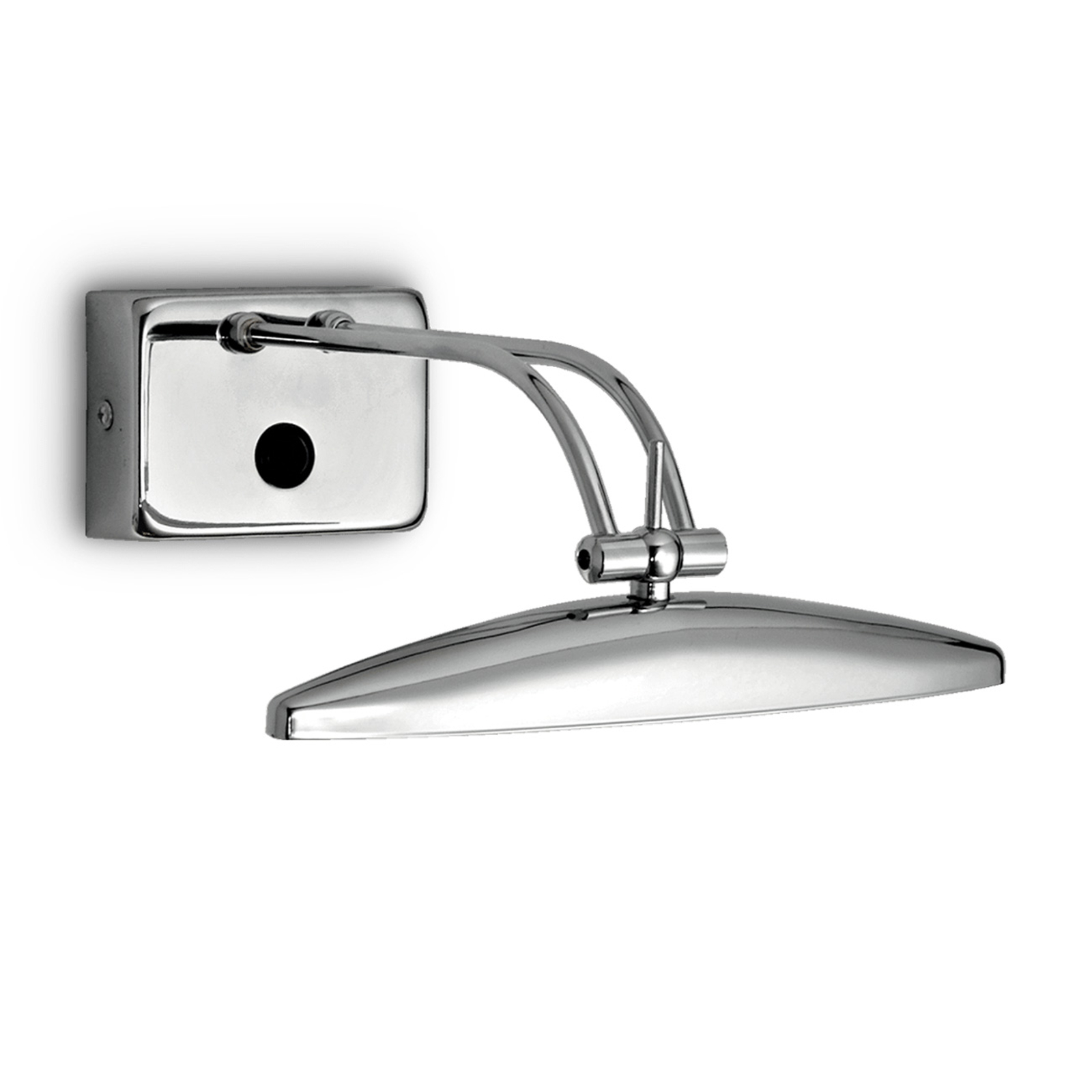 Vegglampe Mirror-20, krom, 25 cm