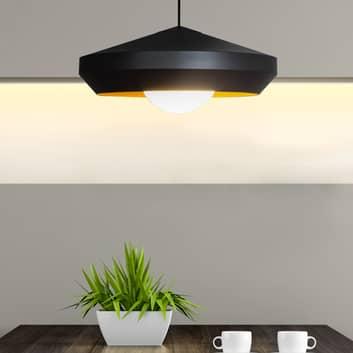 Innermost Hoxton 50 hanglamp, zwart/goud