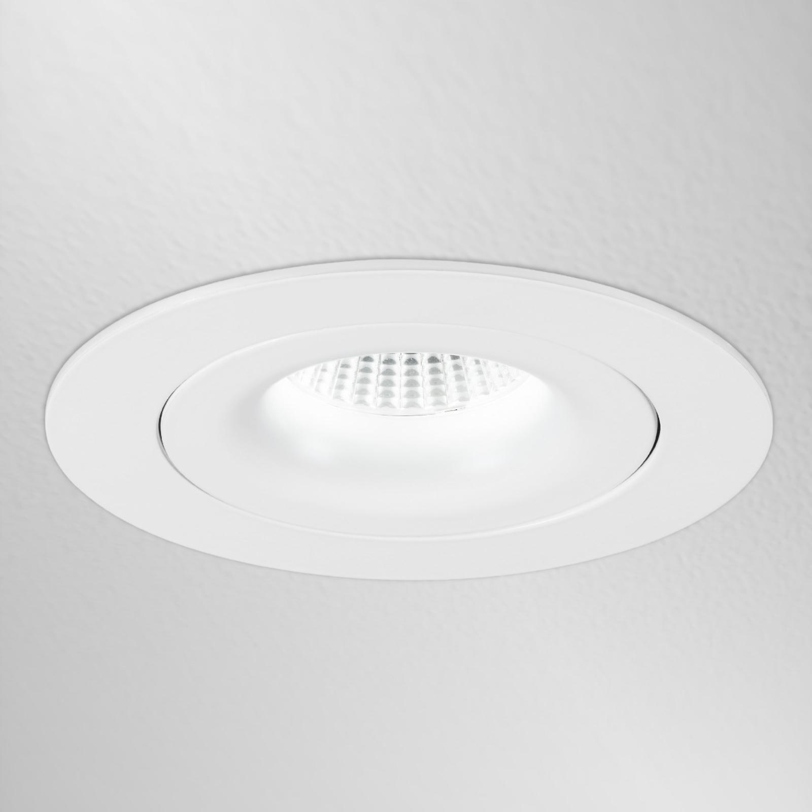 MK 110 LED-indbygningsspot, rund