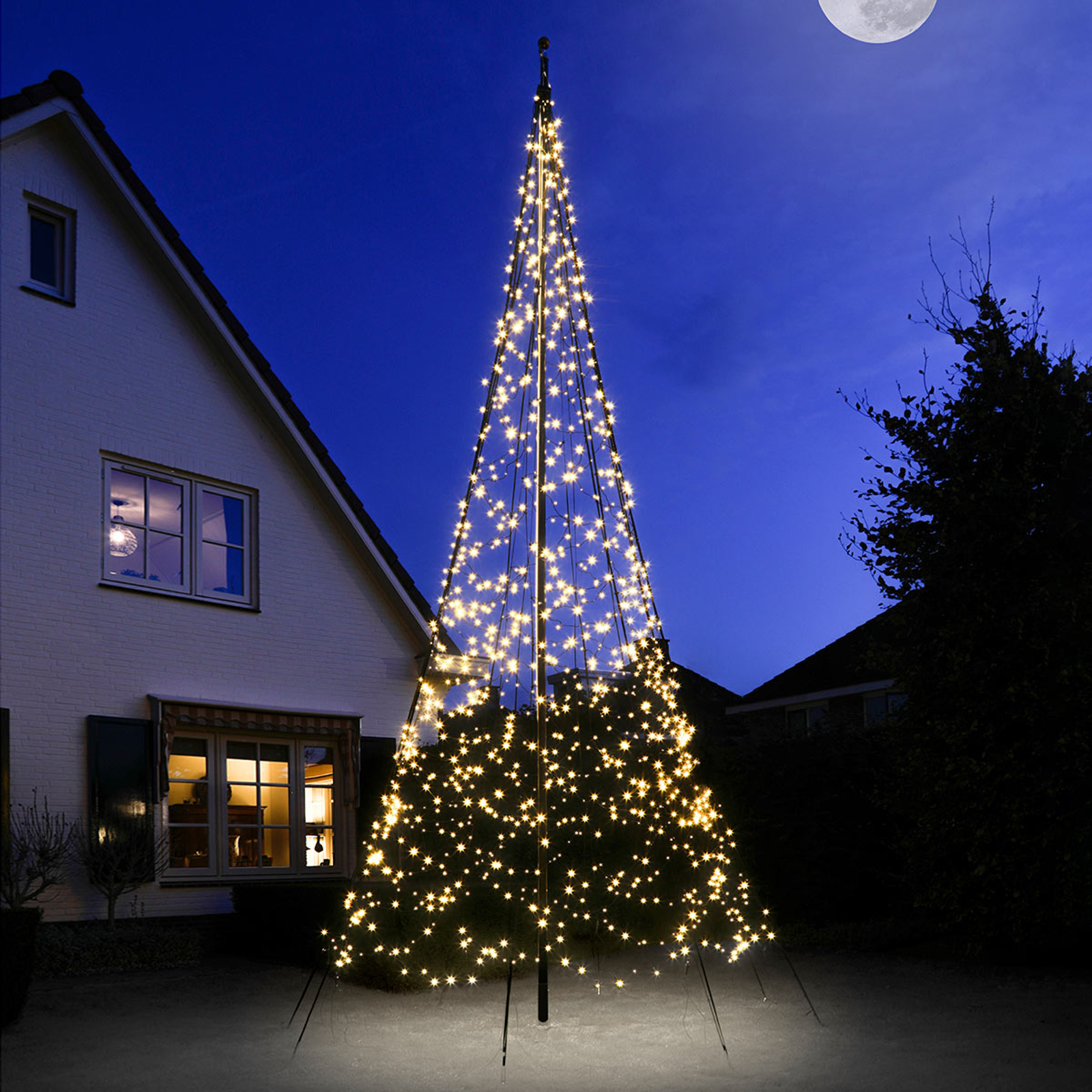 Fairybell® Weihnachtsbaum, 6 m, 1200 LEDs blinkend