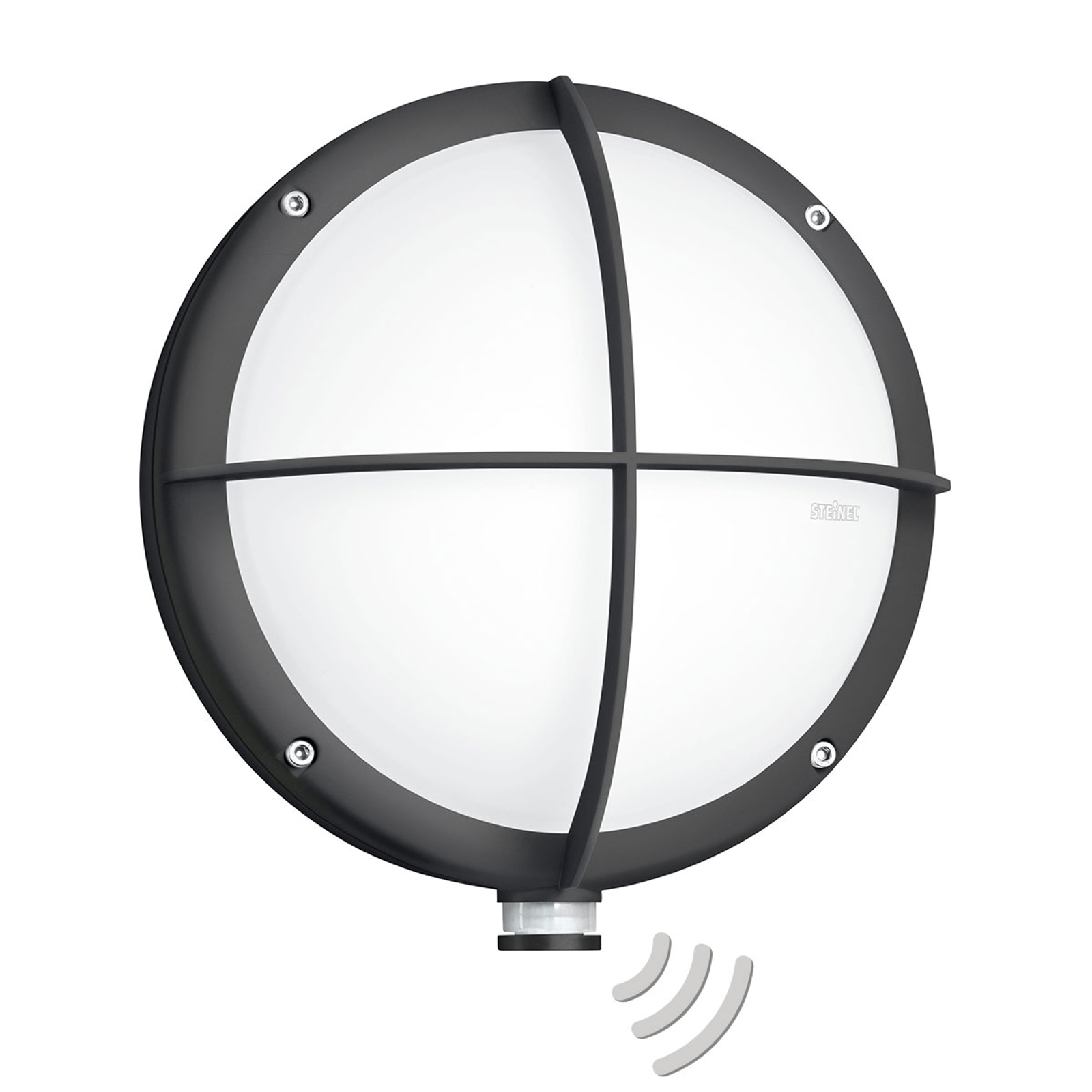 STEINEL L 331 LED-Außenwandleuchte Sensor, Gitter