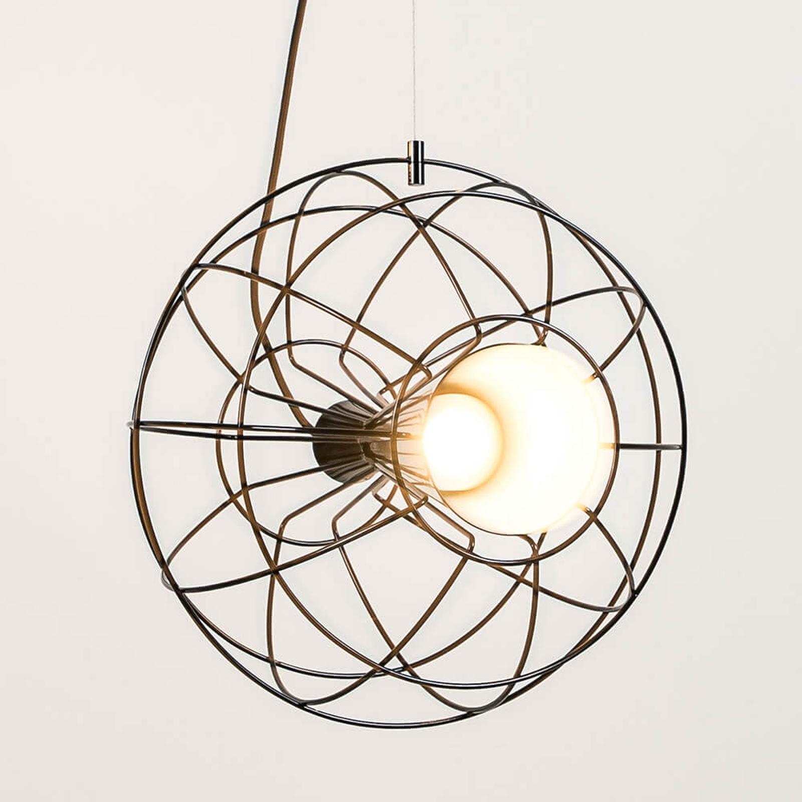 Innermost Latitude - LED-Hängeleuchte schwarz
