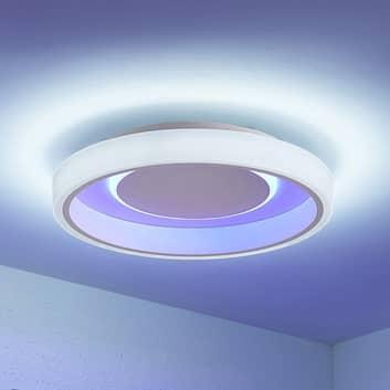 Lindby Wikani plafoniera LED, RGB, CCT, dimming