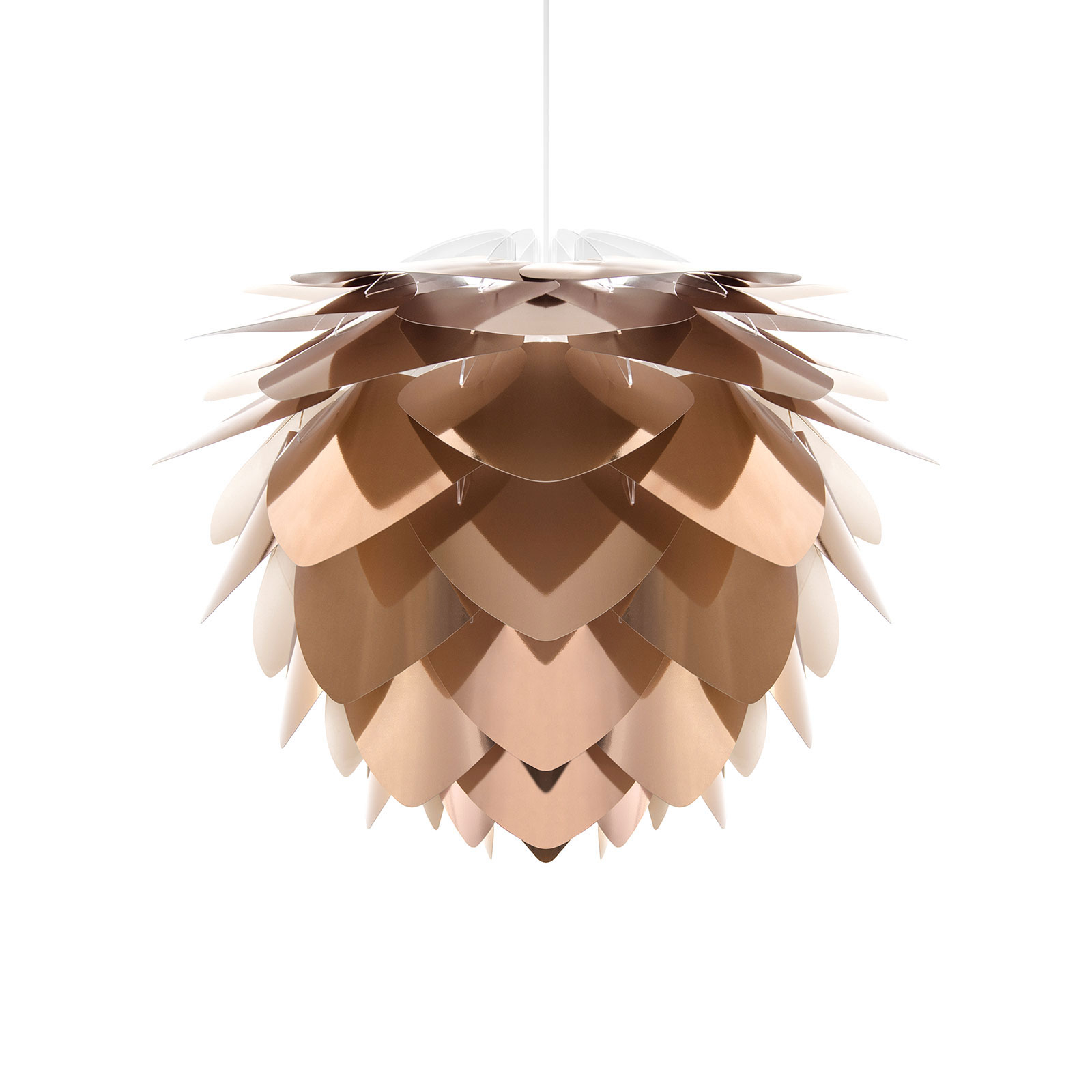 UMAGE Silvia Mini suspension bronze/blanche, Ø32cm