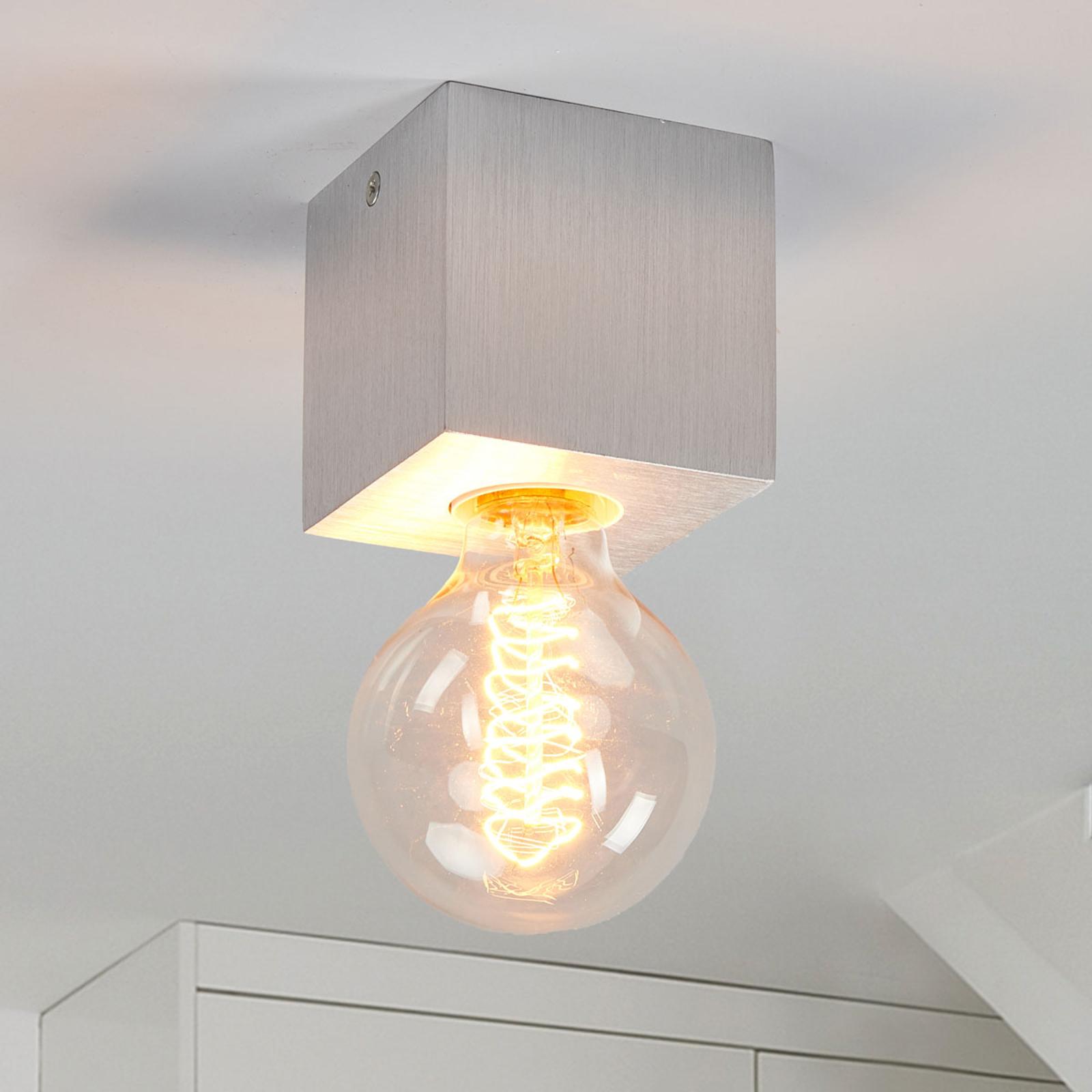 Lampa sufitowa Cubic z aluminium