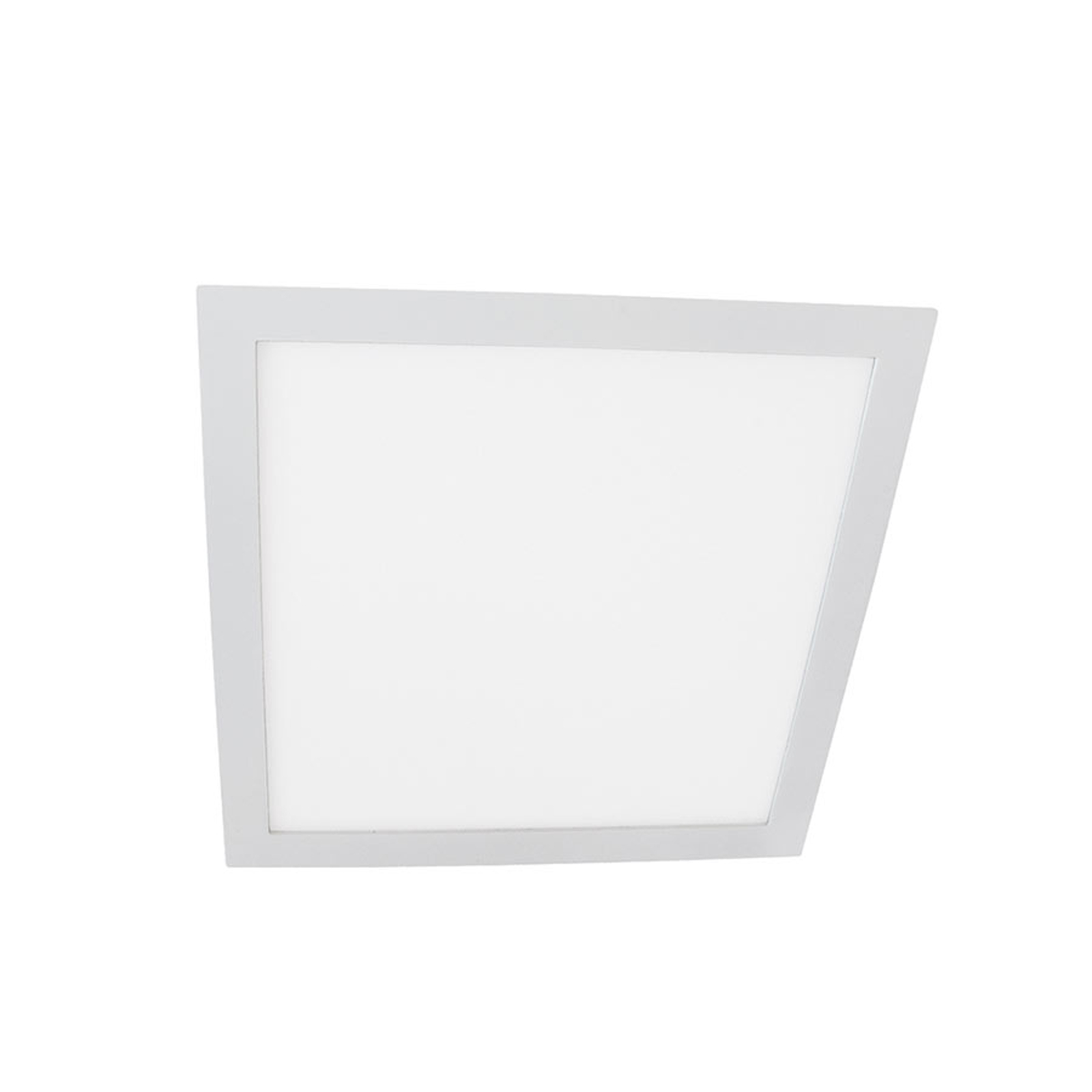 Moon Square LED-downlight 6W, 3 000 K