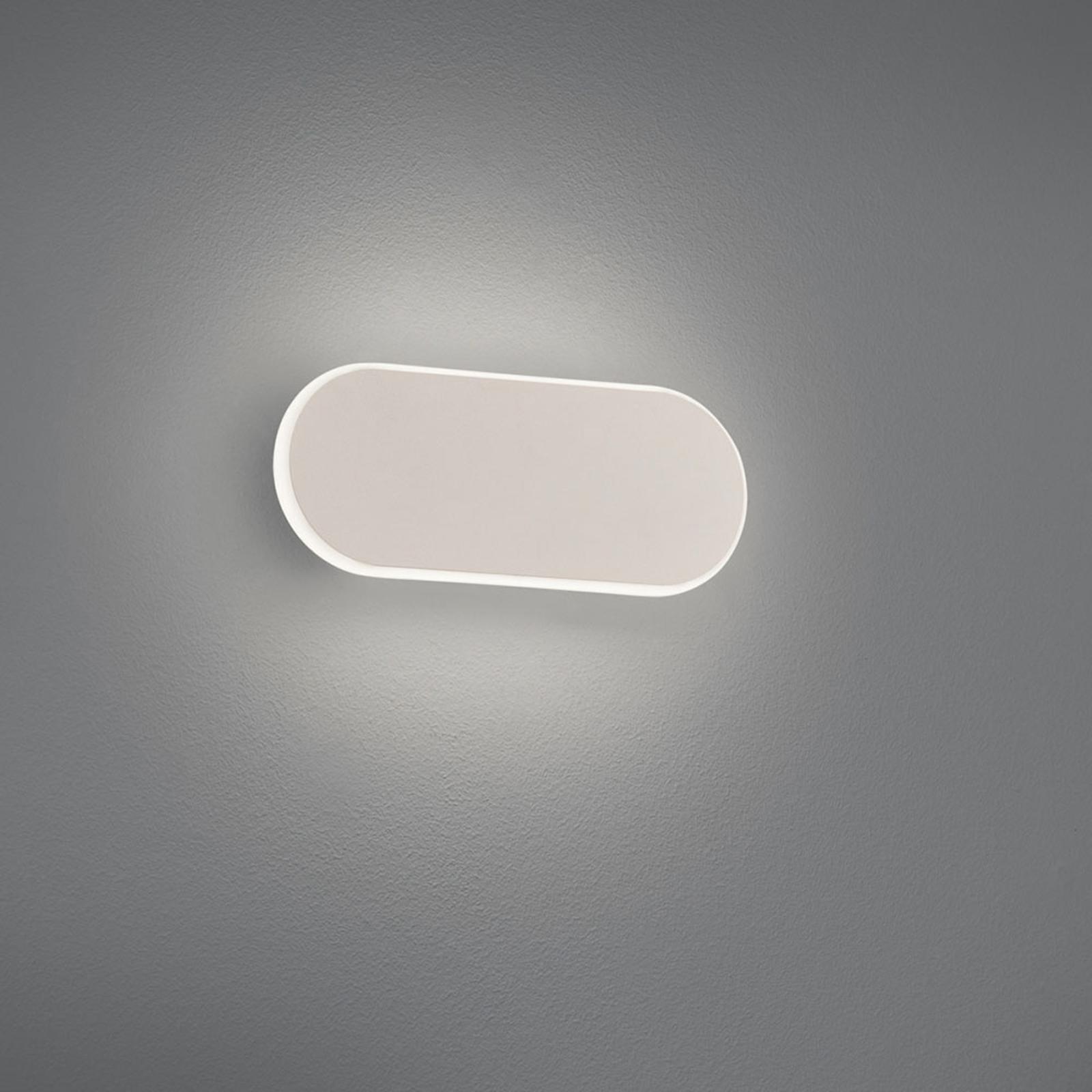 LED wandlamp Carlo, SwitchDim, 20 cm, wit