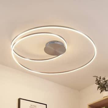 Lindby Imus plafonnier LED, dimmable, Ø 87cm