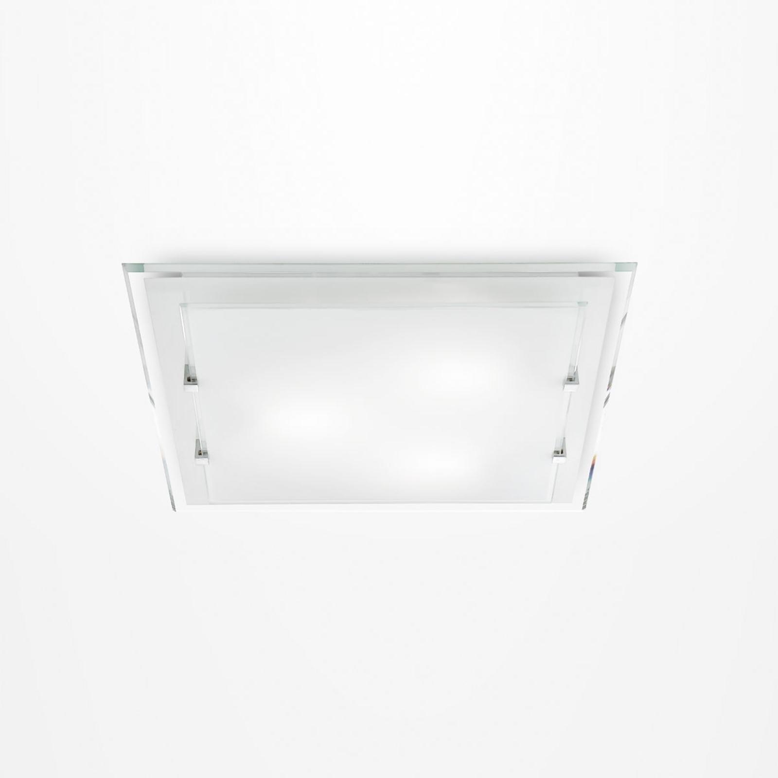 Prostokątna lampa sufitowa Victoria, 30 cm x 30 cm