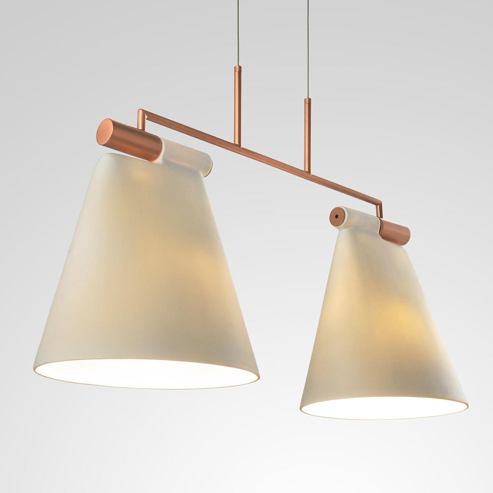 Zweiflammige Pendelleuchte Cone Light S2