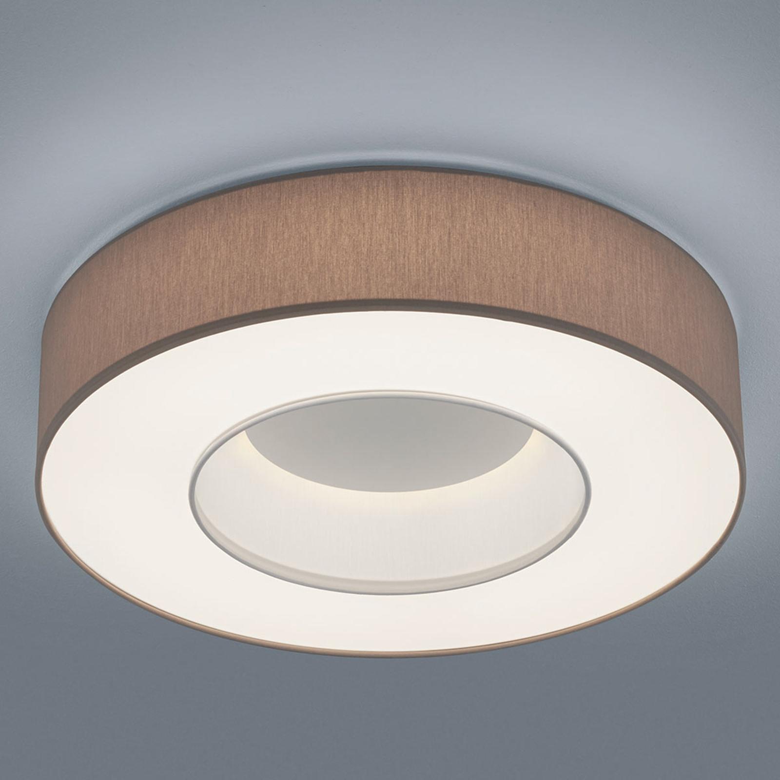 Helestra Lomo - LED-taklampe, chintz mokka