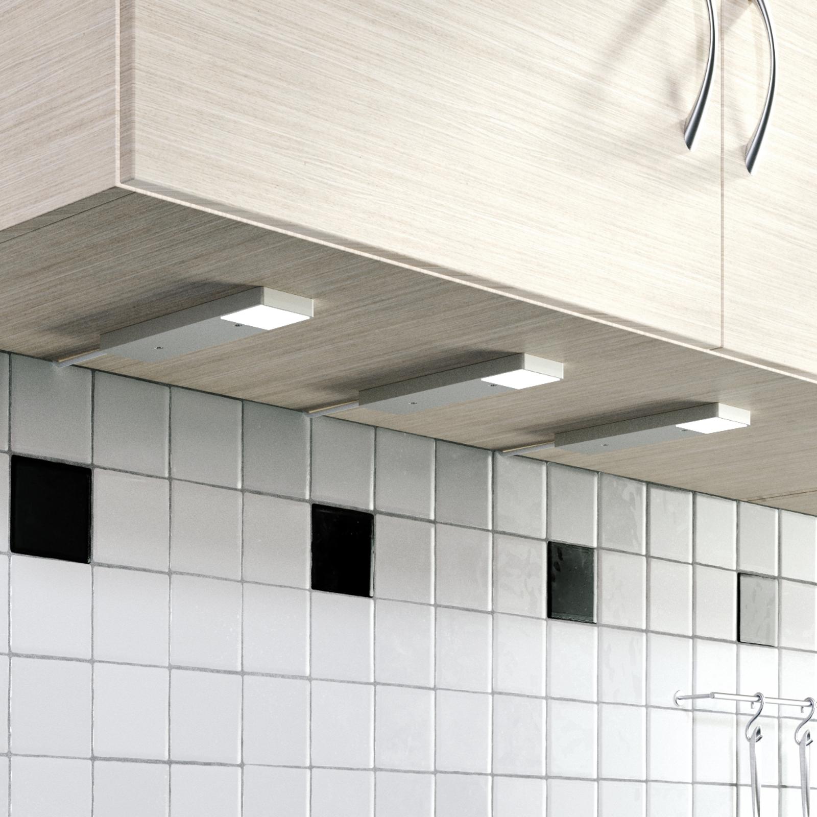 LED-underskabsbelysning Amaryll, 3´er sæt