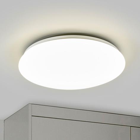 Plafonnier LED Suede blanc