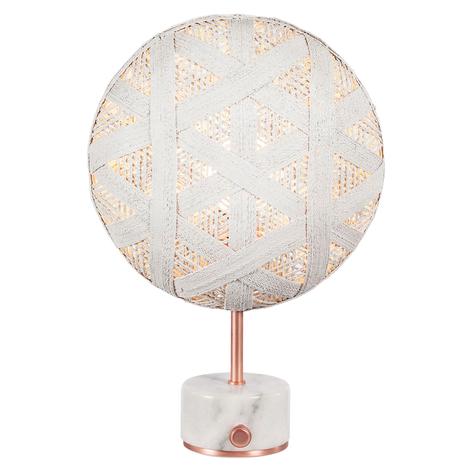 Forestier Chanpen S Hexagonal lampe à poser