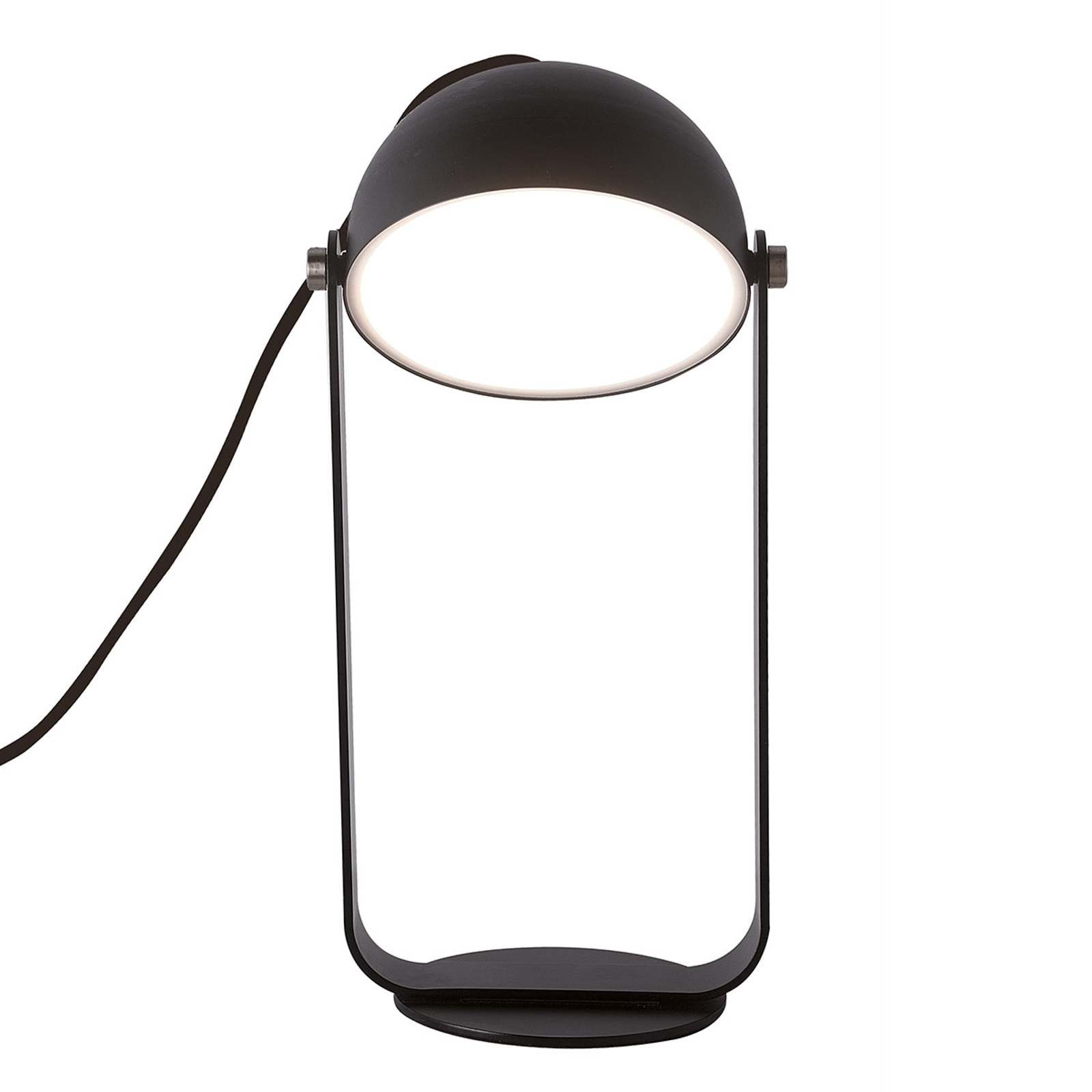 LED tafellamp Hemi draaibare kap zwart