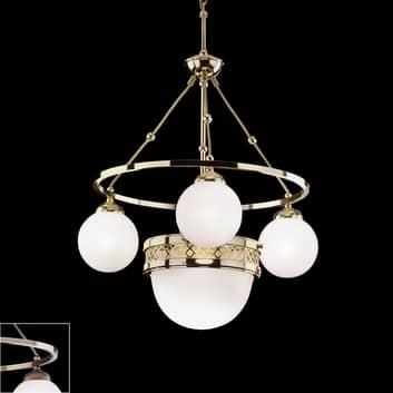 Alt Vienna - Lámpara colgante con vidrio opal