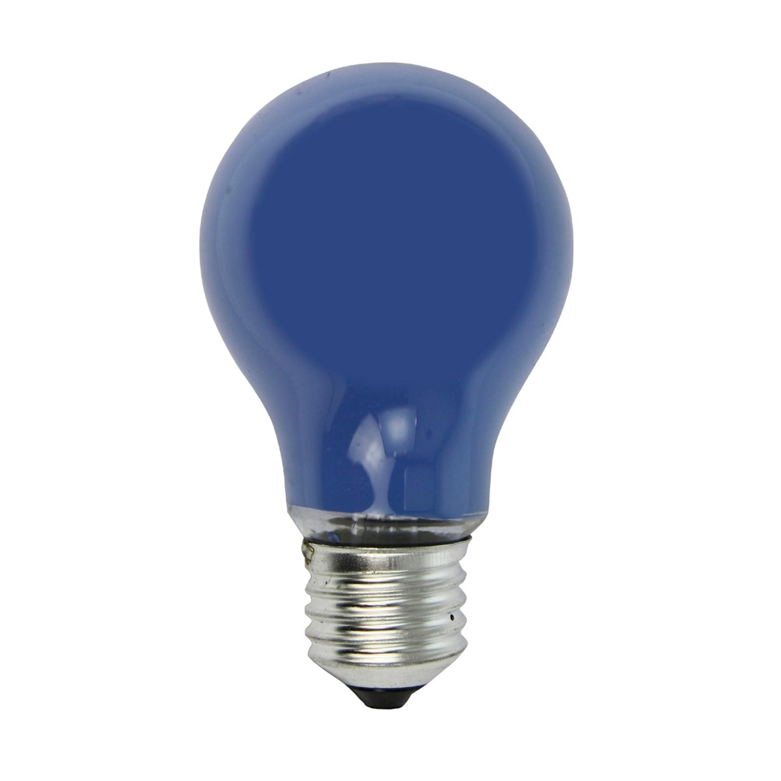 E27 40W glødepære til lyskæder, i blå