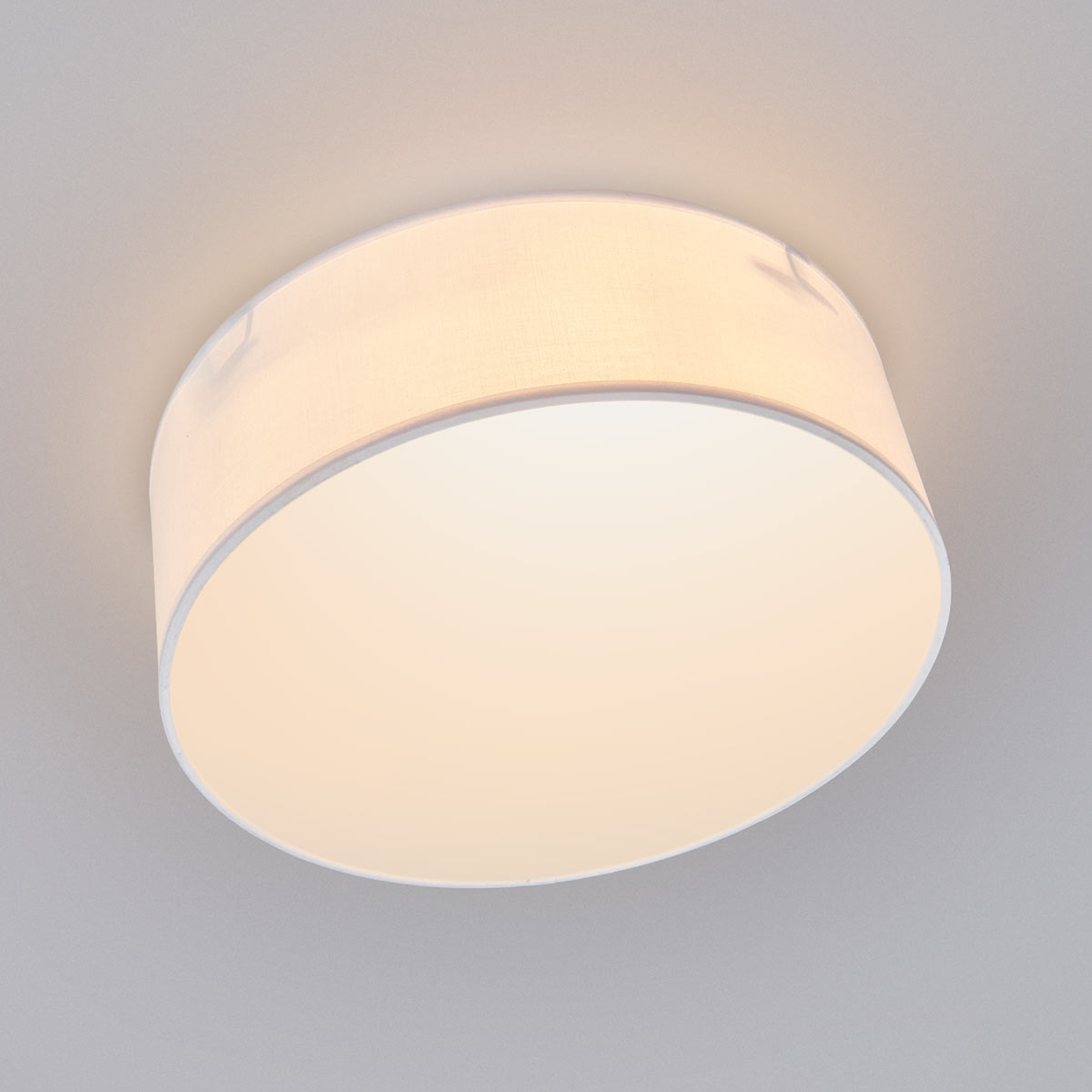 Biała lampa sufitowa CEILING DREAM, 30 cm