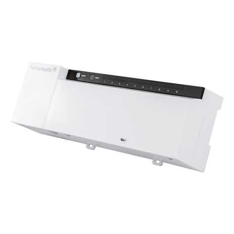 Homematic IP actuador de radiador suelo, x 10 24V