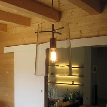 Prandina Sera S1/S3 hængelampe af klart glas