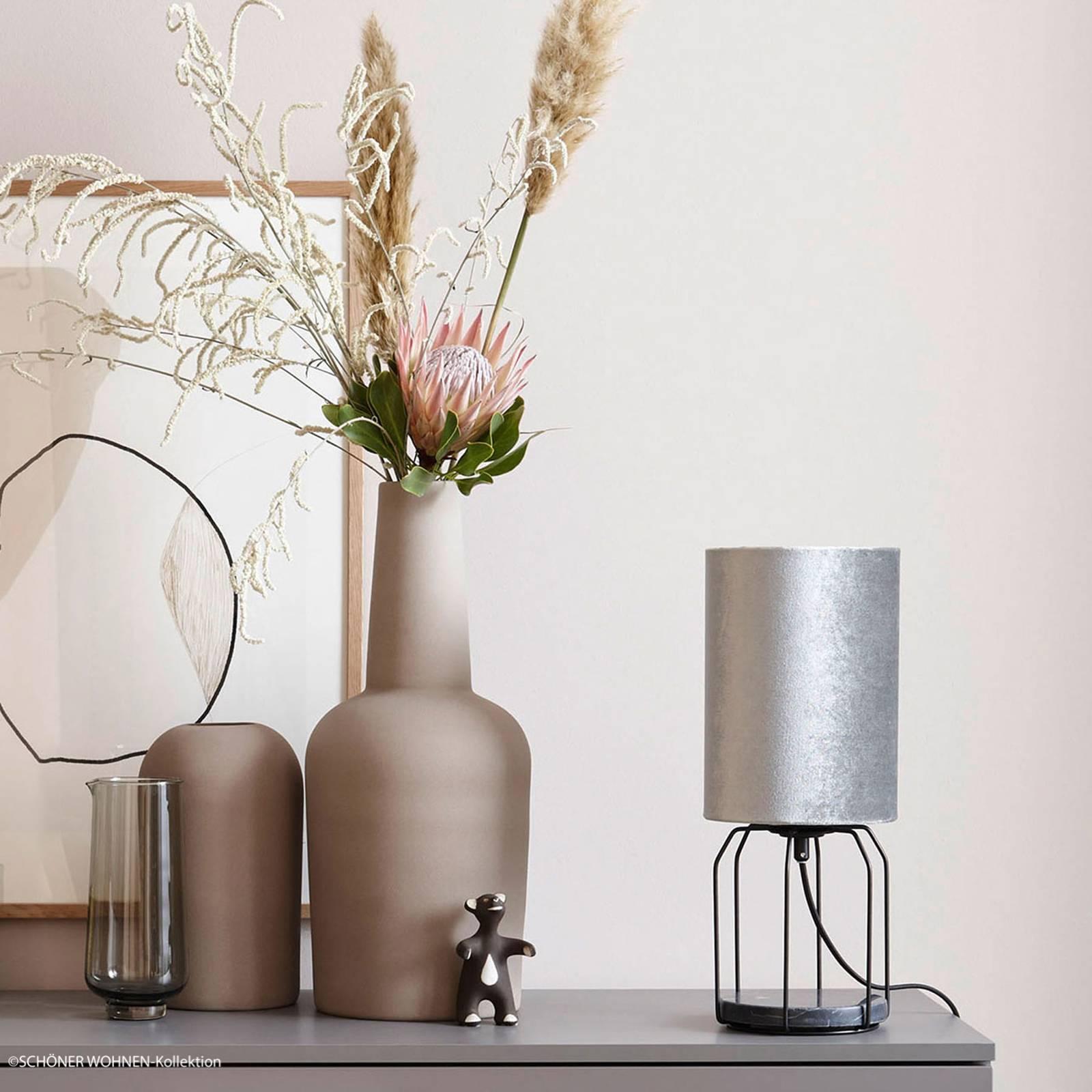 Mooier wonen Grace tafellamp zilver