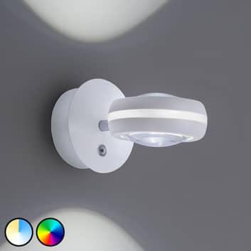 Trio WiZ Vista applique LED, bianco