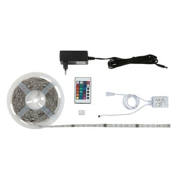 Bila LED-stripe sæt 3 m med fjernbetjening