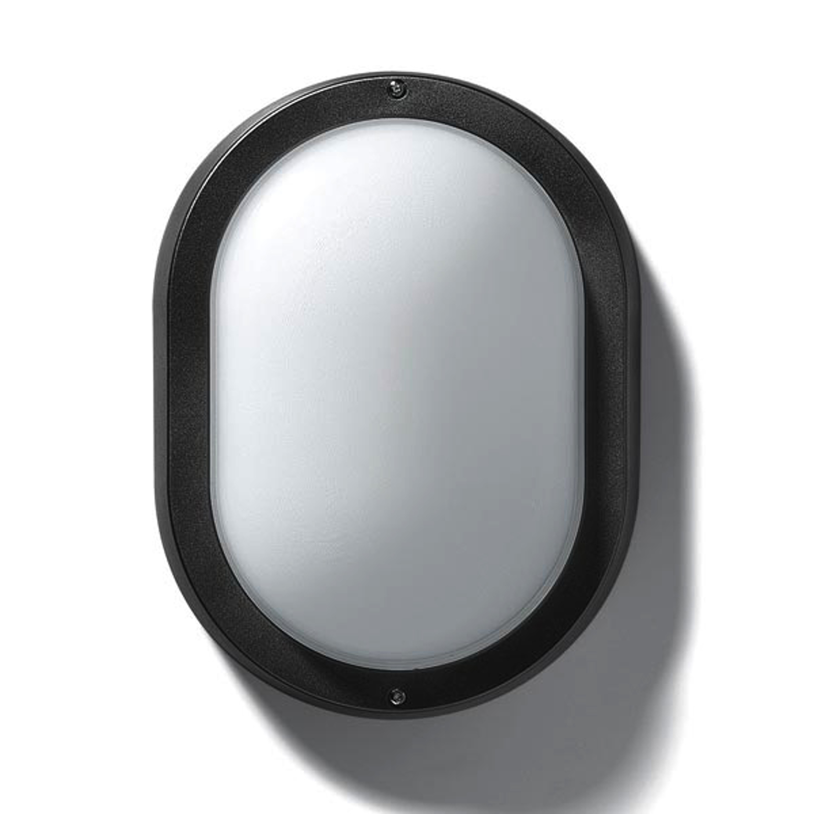 Buiten-wand- of plafondlamp EKO 19, zwart
