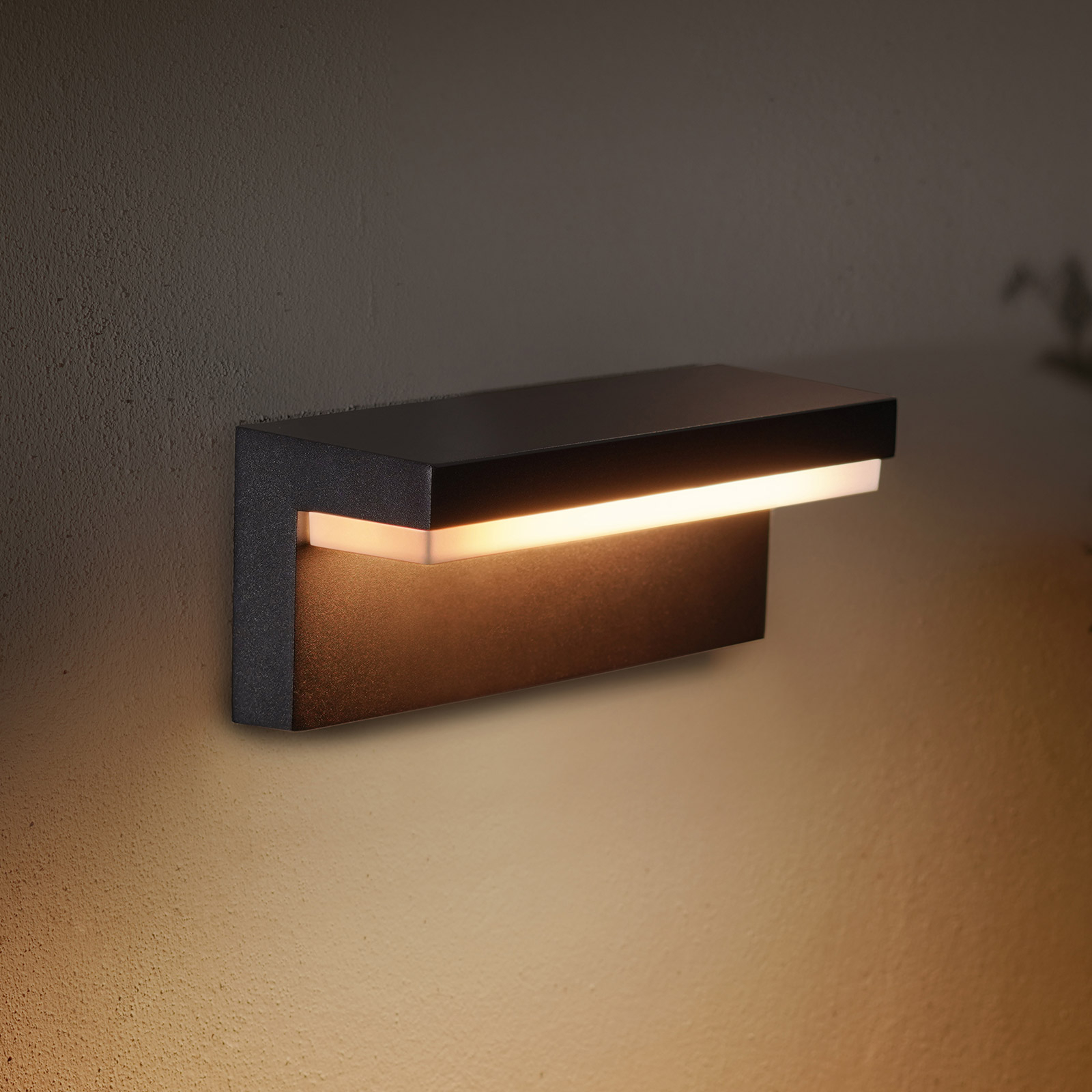 Philips Hue WACA Nyro applique LED esterni nero