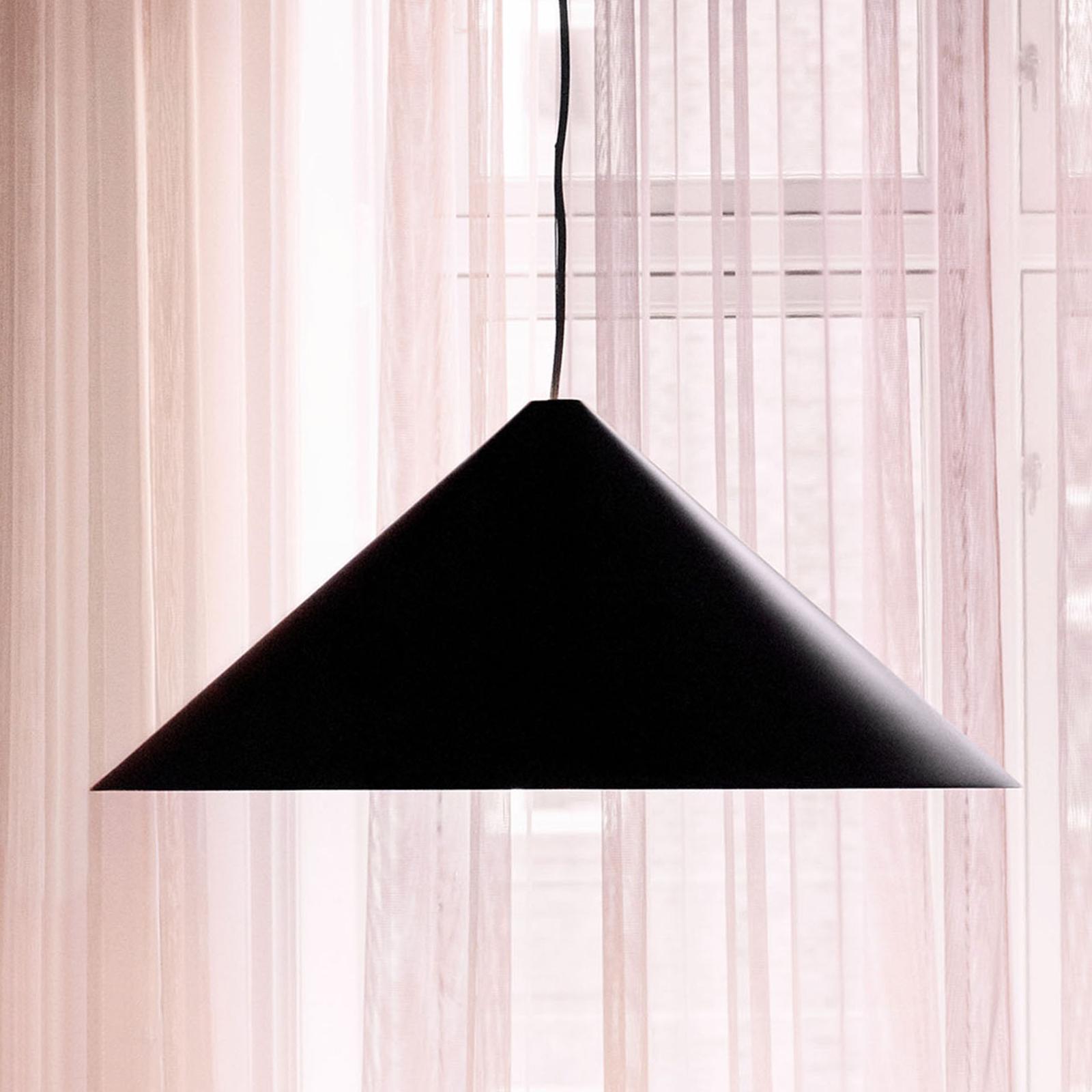 Louis Poulsen Keglen LED hanglamp 65cm zwart