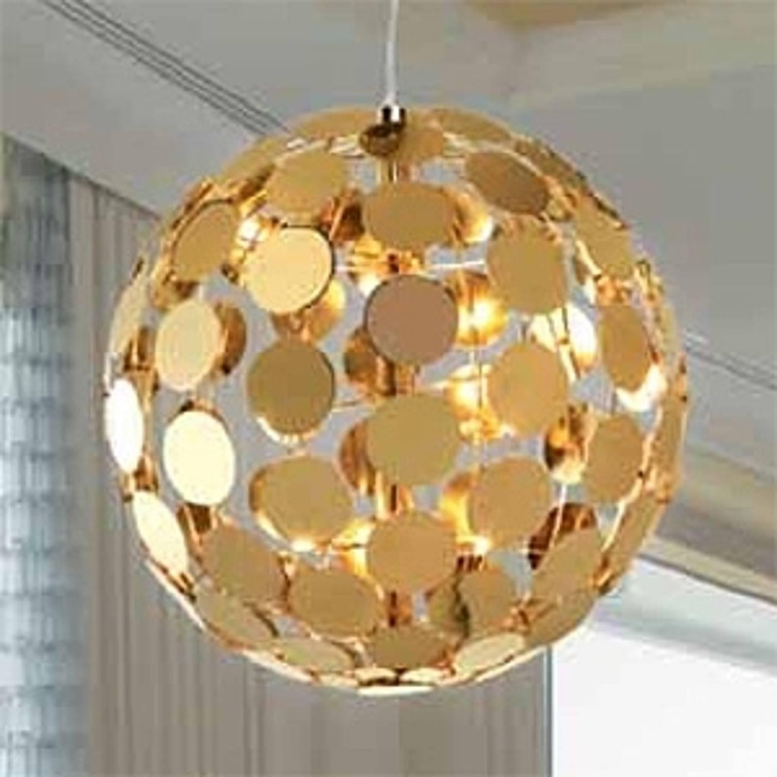Lampa wisząca SFERA, śr. 50 cm w kolorze złota