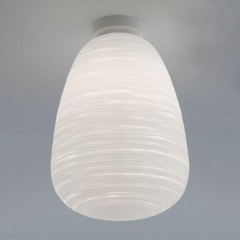 Foscarini Rituals glasloftlampe, mundblæst