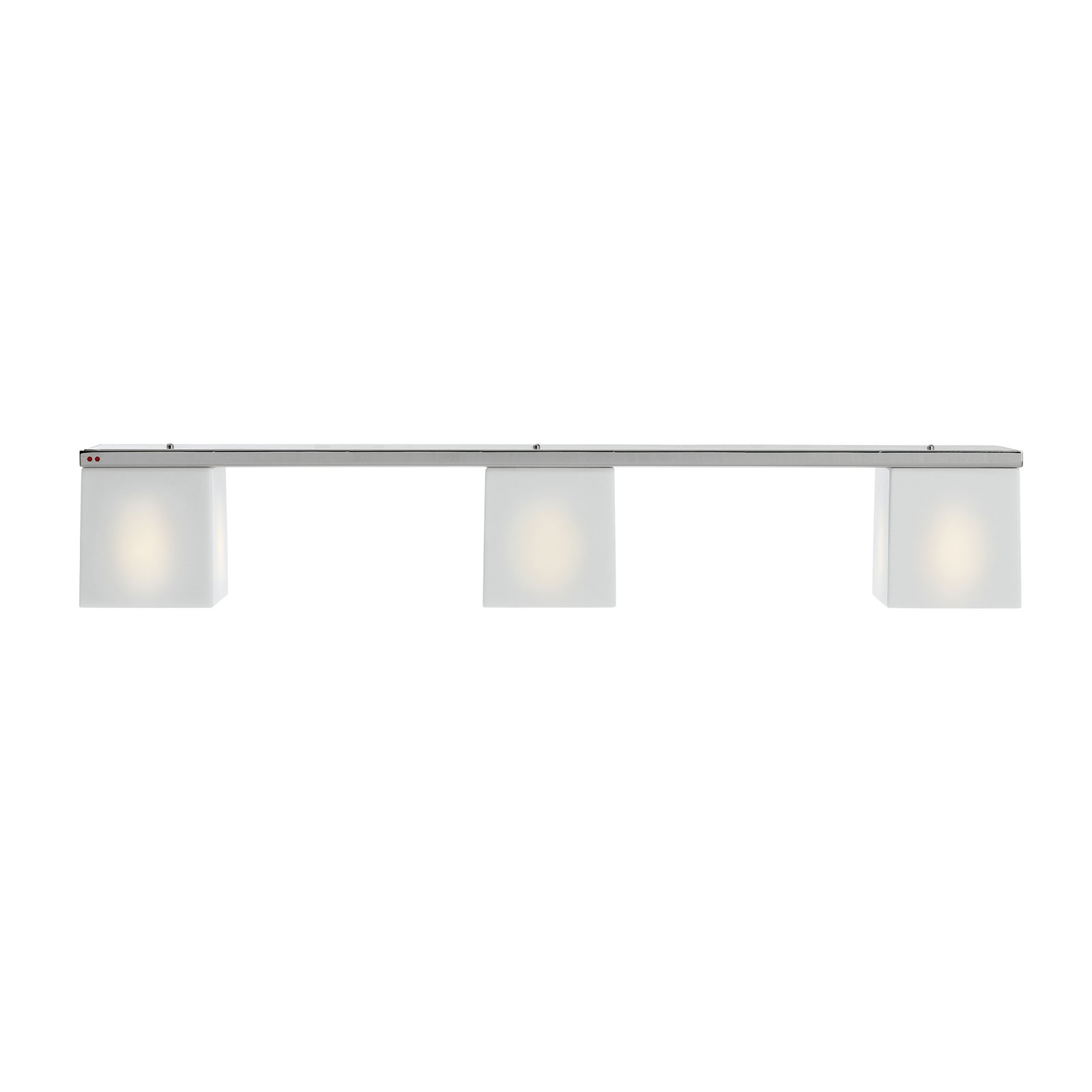 Fabbian Cubetto Deckenlampe 3-flammig GU10 weiß
