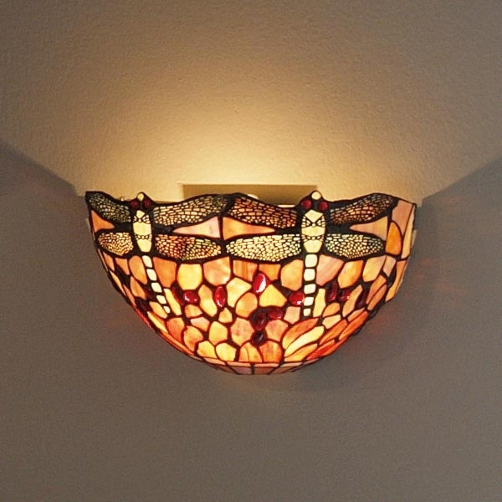 LIVELLA væglampe i Tiffany-stil