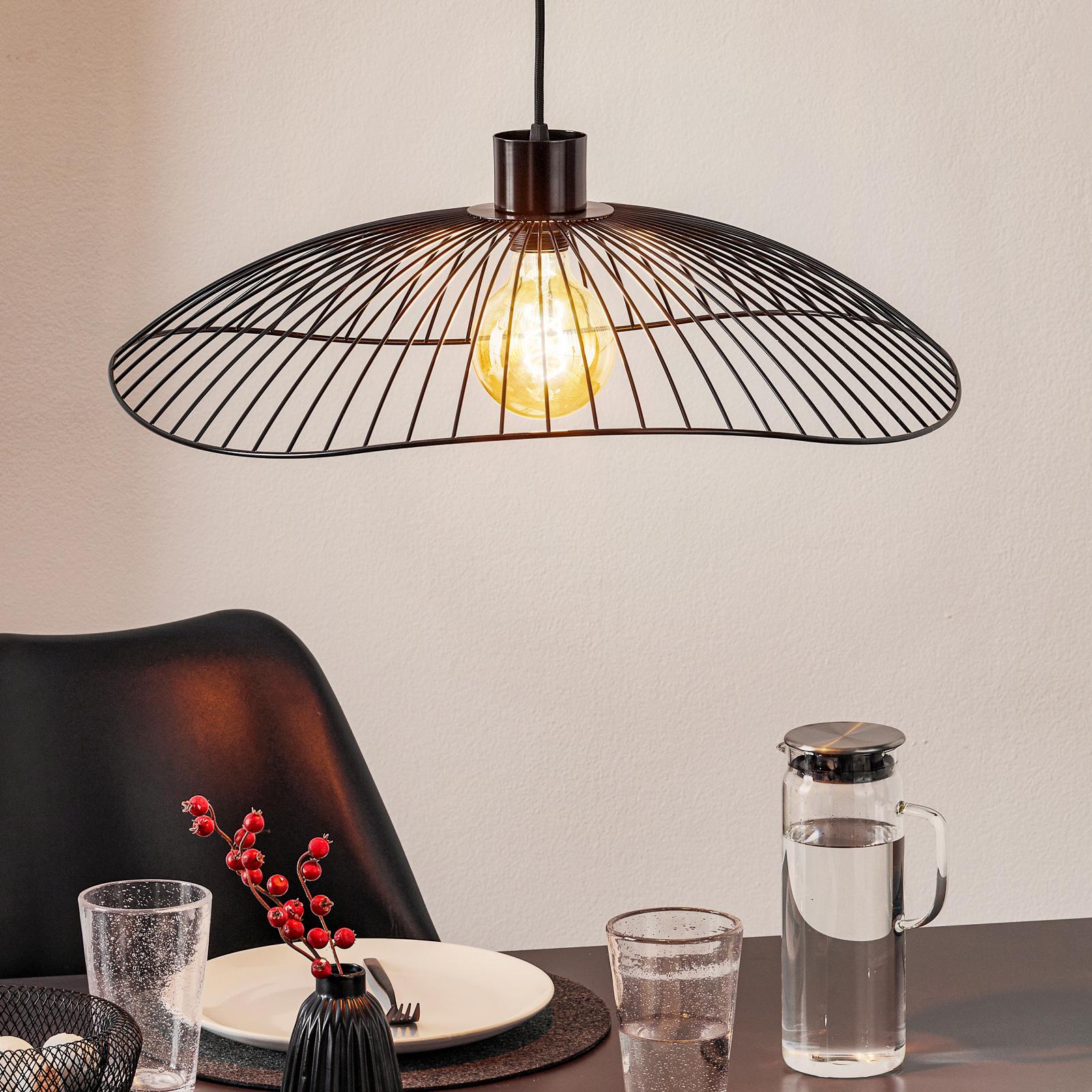 Forestier Colibri S lampa wisząca Ø 56 cm czarna