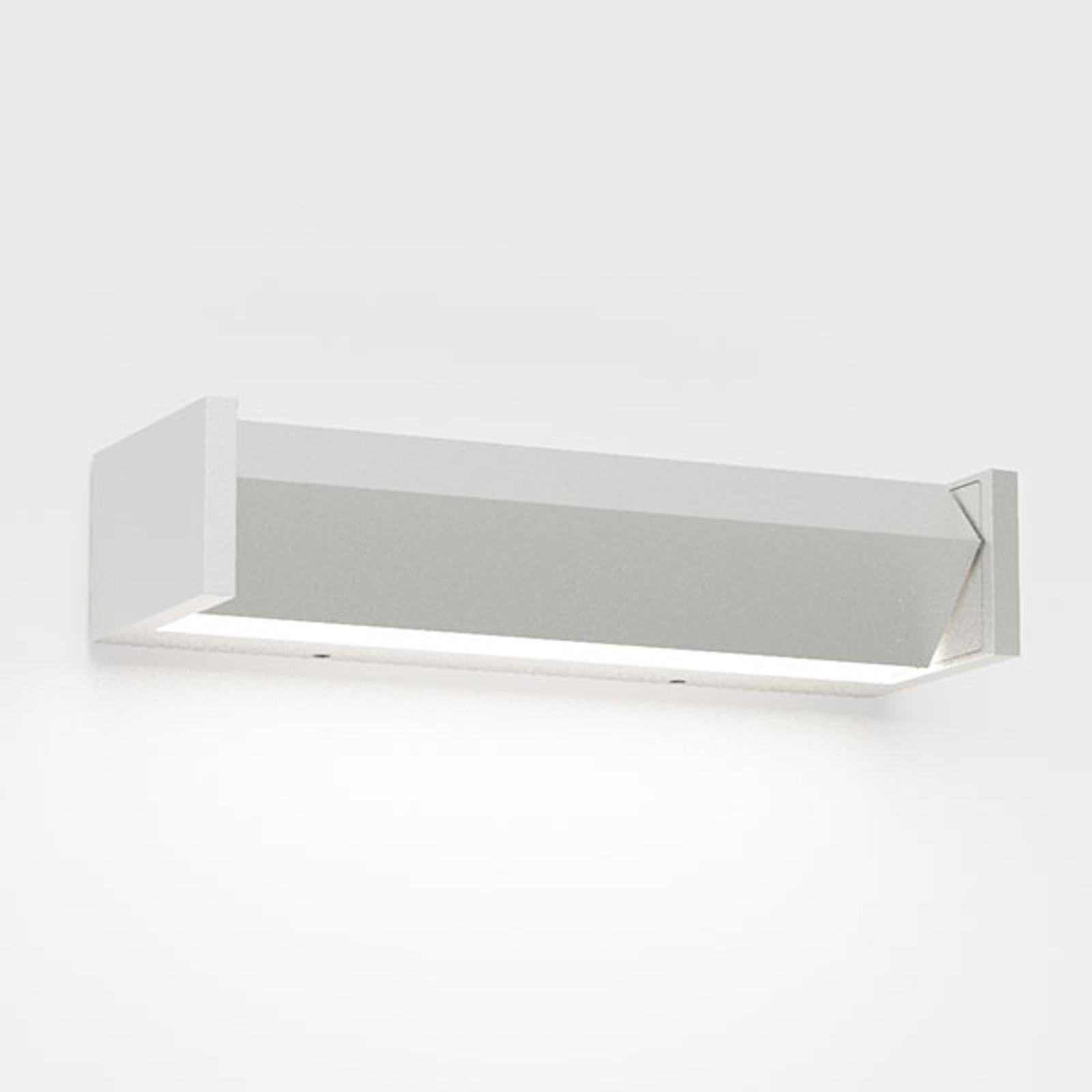 IP44.de Slat One LED-Außenwandleuchte, weiß
