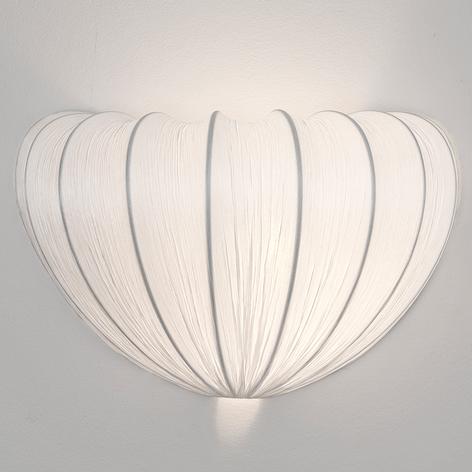 Textilní nástěnné světlo Sultano