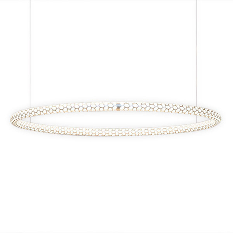 Rotaliana Squiggle H1 LED-Hängelampe weiß Ø 69 cm