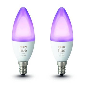 Philips Hue kerte White&Color Amb. E14 5,3W 2 stk.