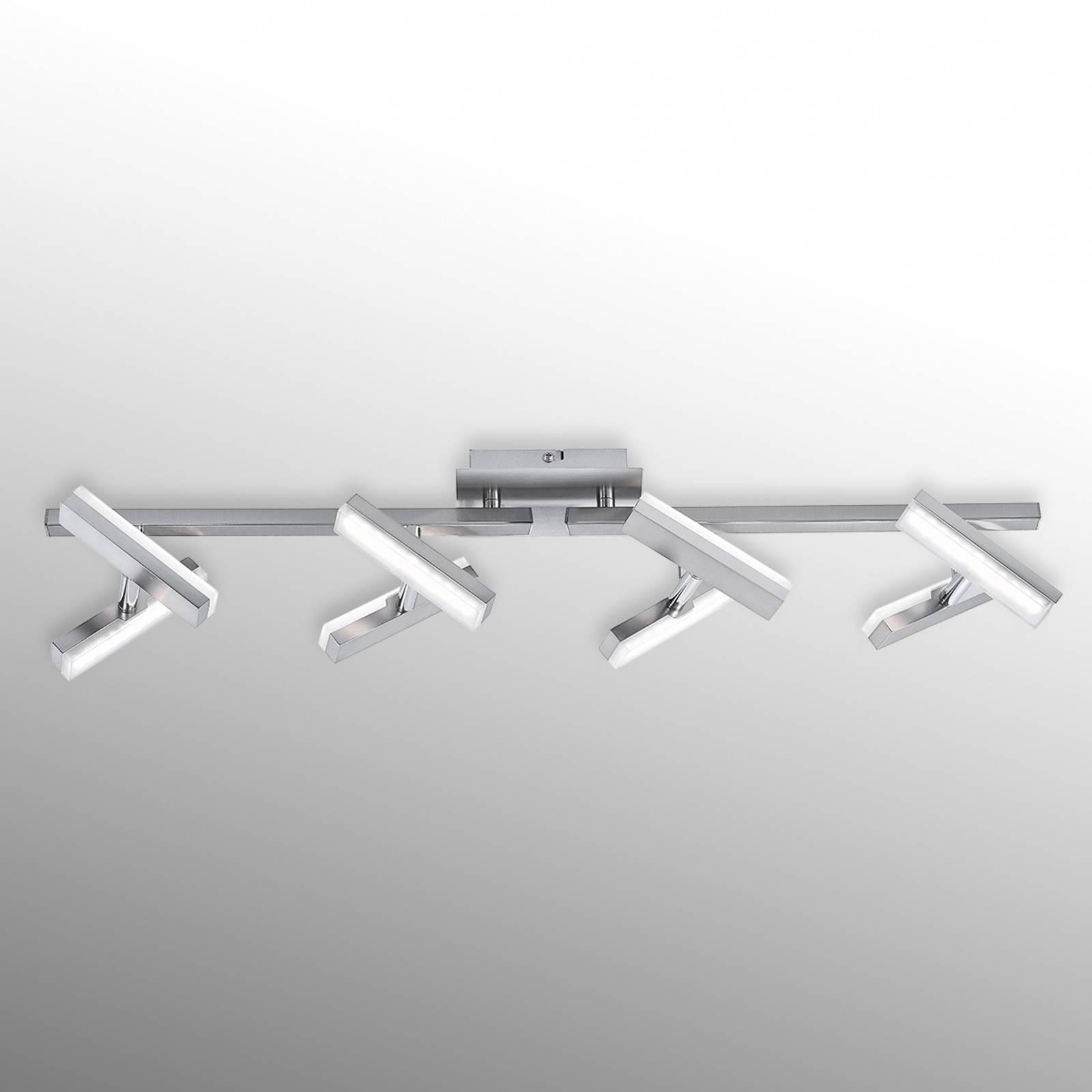Functionele LED-plafondlamp Rico, 8-lichts
