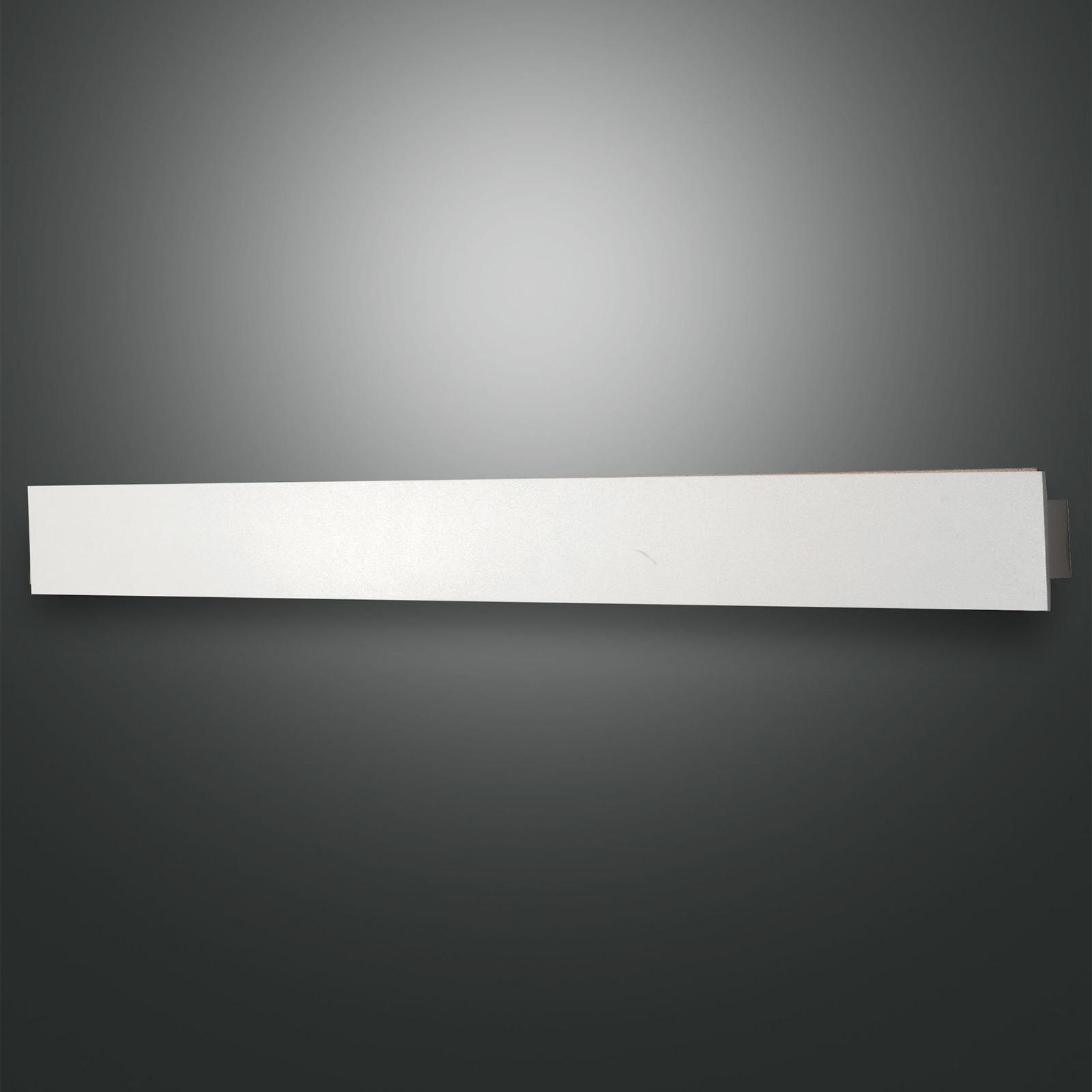 Applique LED Lotus, bianca, lunga 93 cm
